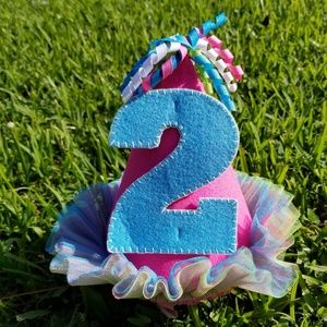 Precious Second Birthday Hat - New With Tags
